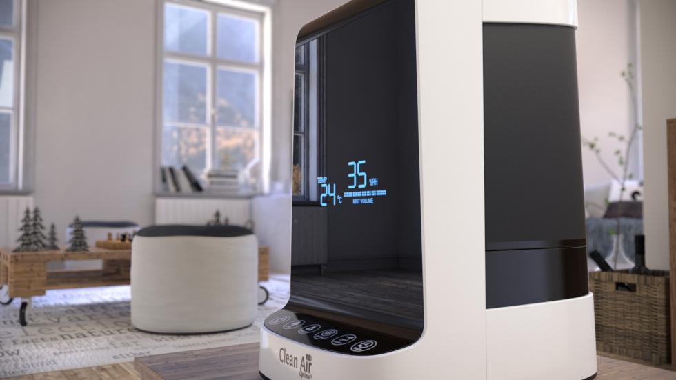 Kombinierte warme und kalte Ultraschall Luftbefeuchtung mit Luftreinigung durch Ionisation CA-605.
