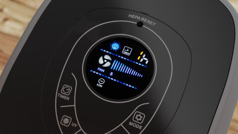 Geräuscharmen HEPA UV Ionisator Luftreiniger CA-506 von Clean Air Optima.