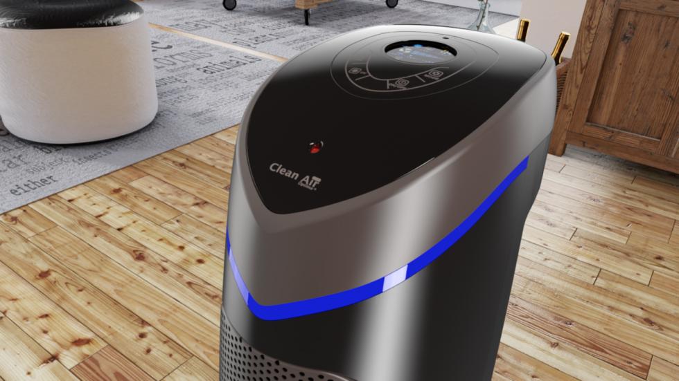 Die neutrale Farbe ist der Clean Air Optima HEPA UV Ionisator Luftreiniger CA-506 in jedem Interieur einsetzbar.