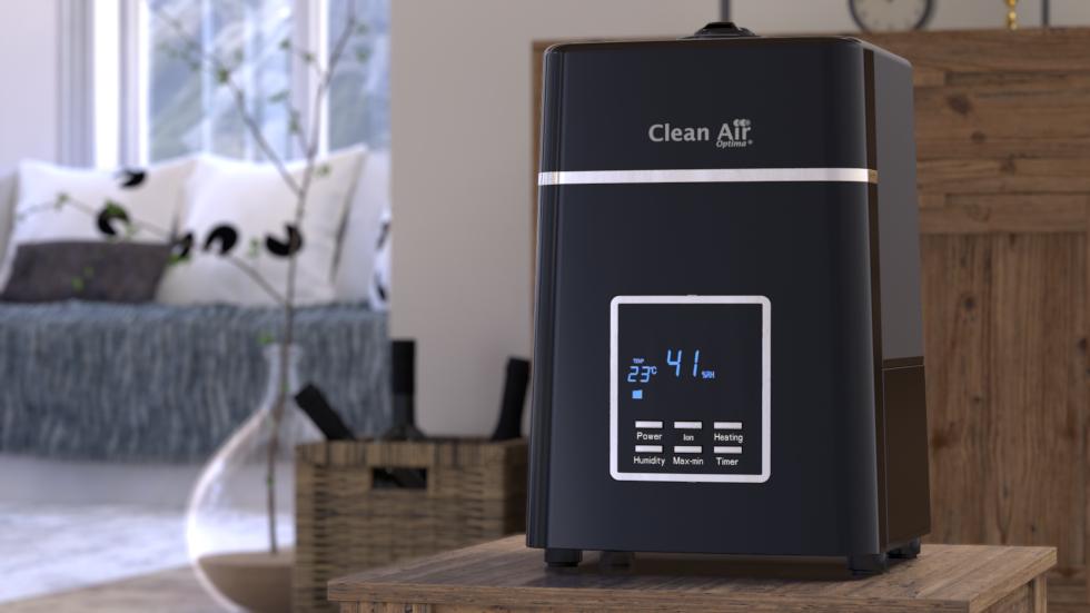 Ultraschall Luftbefeuchter mit Ionisator CA-604B