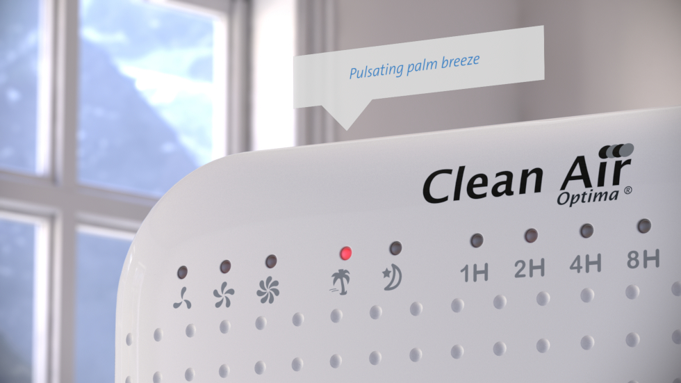 Einzigartiger Design-Turmventilator für angenehm kühlende Luft während der warmen Tage
