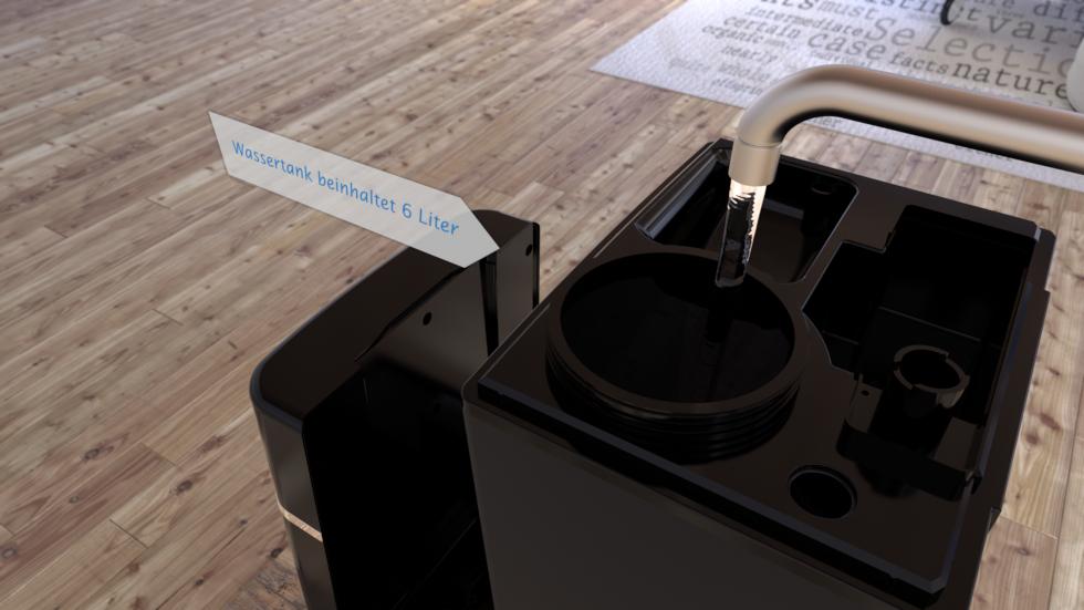 Befeuchtet, reinigt, erfrischt und verbessert die Luftqualität.